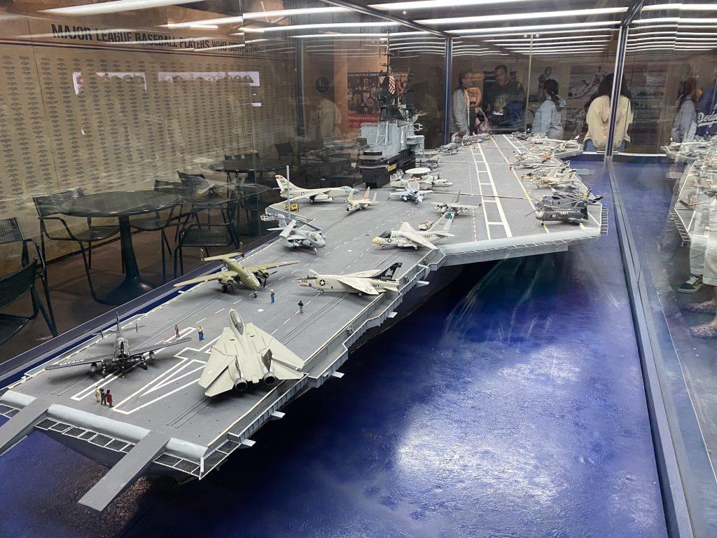 USS Midway Model PETCO Park